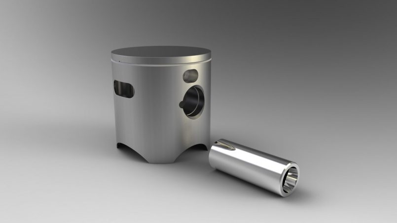 Piston two stroke