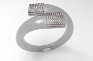 Ring swarovski a