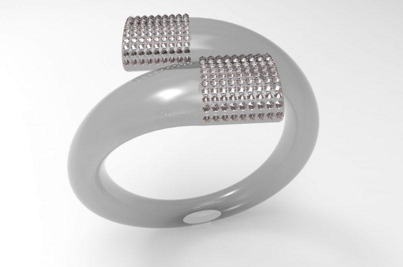 Ring swarovski a